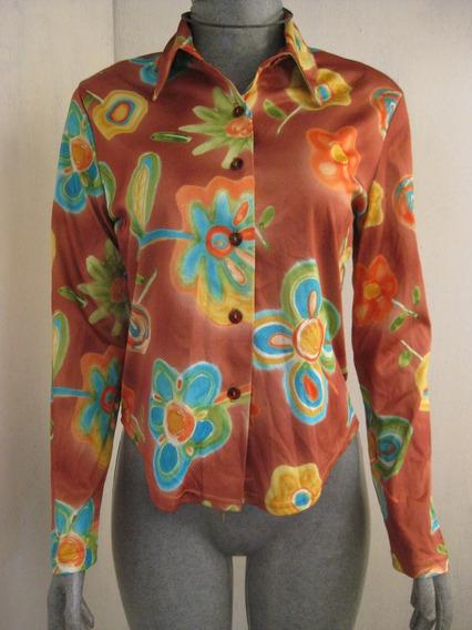 Blusa Estampada Color Talla Ch Marca Inout
