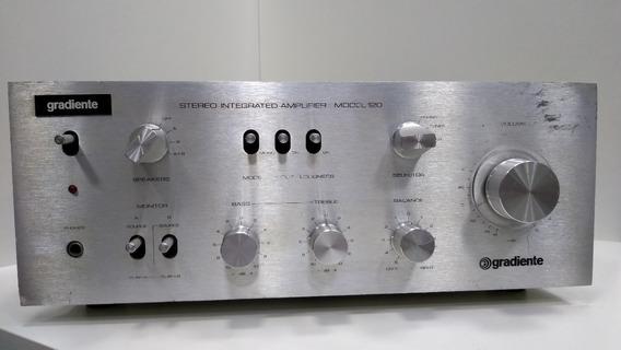 Amplificador Gradiente 120 Integrado Amplificador Fita