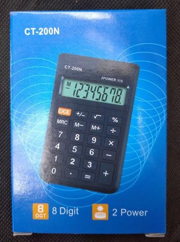 Calculadora Bolsillo 8 Dígitos Ct-210n