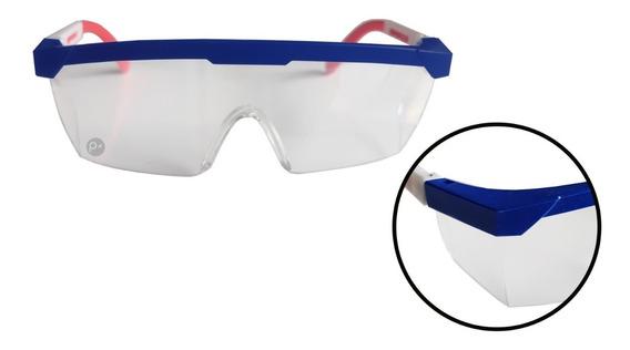 Gafas Protectora Frontal Y Later Policarbonato Transparente
