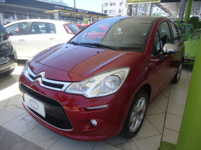 Citroën C3 1.6 Vti 16v Exclusive Flex Aut. 5p Bordô 2016