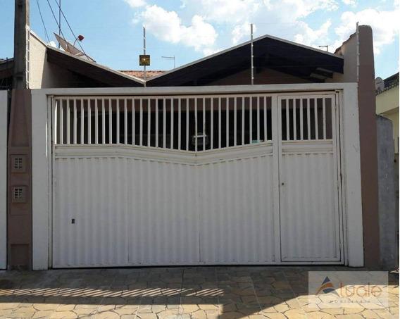 Casa Com 3 Dormitórios À Venda, 130 M²- Jardim Santana - Hortolândia/sp - Ca6468