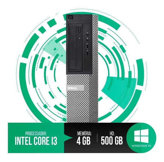 Pc Dell Optiplex Intel Core I3, 4gb Ram Ddr3, Hd 500gb
