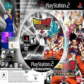 Dragon Ball Z Budokai Tenkaichi 4 Beta 5 V. Latino Patch Ps2