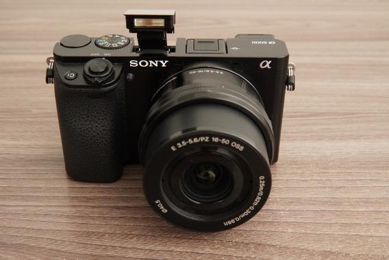 Camera Sony A6000 + Lente 16-50 Kit + Bateria Original