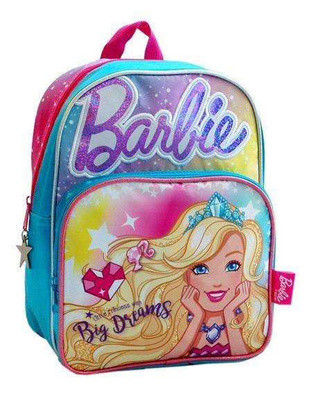 Mochila Espalda Jardin 12p Con Luz Barbie 14032 Mundo Team