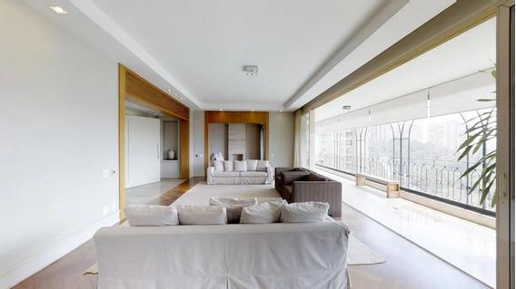 Apartamento Para Locação Em São Paulo, Panamby, 4 Dormitórios, 4 Suítes, 5 Banheiros, 6 Vagas - R01026lap1650
