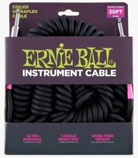 Cable Guitarra / Bajo Espiral Ernie Ball Plug Plug 9mts