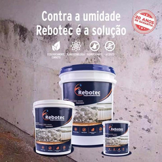 Rebotec 2kg Impermeabilizante P/ Laje Reboco Piso Ceramica