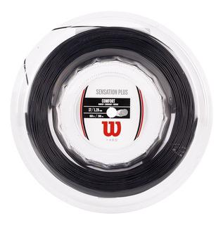 Corda Wilson Sensation Plus 17l 1.28mm Preta - Rolo Com 200