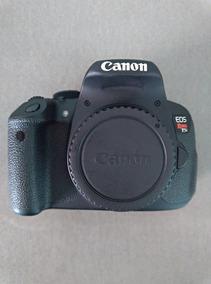 Câmera Canon T5i 18mpx Full Hd Touch Screen + 4 Bateria
