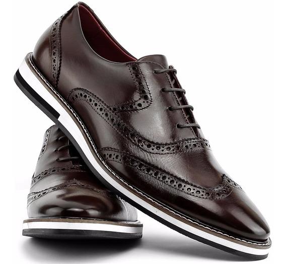 Sapato Social Okford Masculino 100%couro Lincoln Calçados