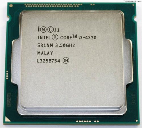 Imagem 1 de 2 de Processador Intel Core I3-4330 2.4ghz 4mb - Ddr3