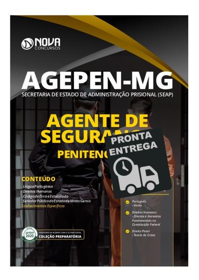 Apostila Agepen Mg Agente De Segurança Penitenciário Livro