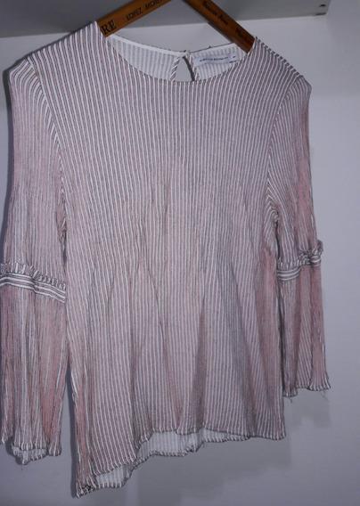 Blusa Rayada Mujer Gacventas