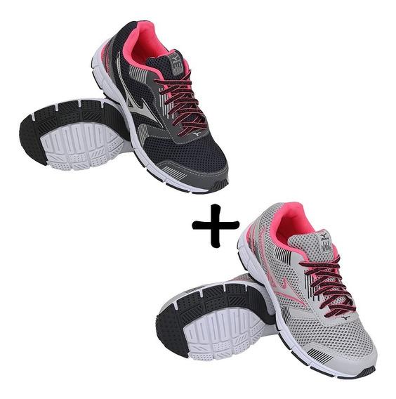 Combo 2 Pares De Tênis Esportivos Corrida Caminhada