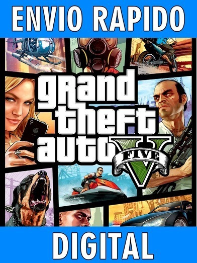 Gta V - Grand Theft Auto 5 - Completo Envio Imediato - Pc