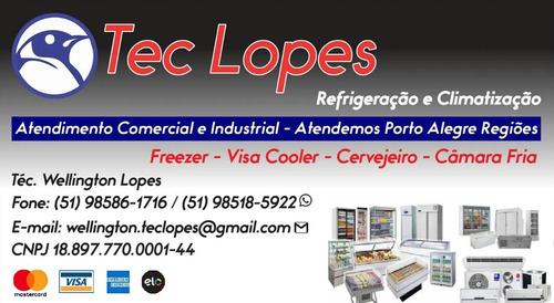 Imagem 1 de 1 de Refrigeração E Climatização Comercial E Residencial