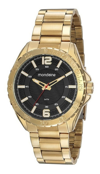 Relógio Masculino Dourado 53827gpmvde1