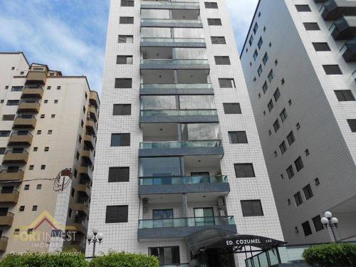 Imagem 1 de 26 de Apartamento Com 2 Dormitórios À Venda, 80 M² Por R$ 250.000,00 - Ocian - Praia Grande/sp - Ap2465