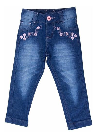 #kit 2 Calças Jeans Infantil Femininas 2/4/8/10/12/16 Lindas
