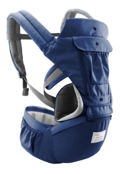 Canguru Ergonômico Bebê C/ Apoio De Cintura 12 Posições + Nf