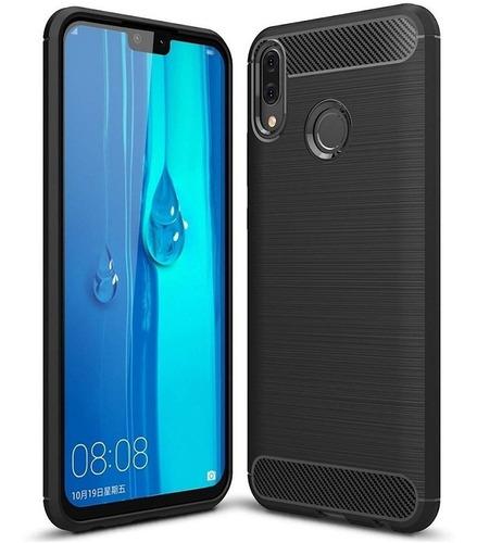 Protector Funda Tpu Carbono Huawei Huawey Y7 2019