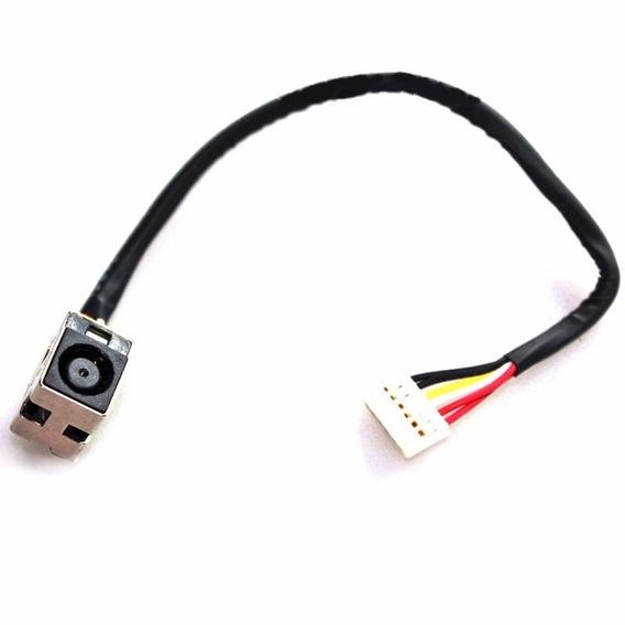 Dc Power Jack Com Cabinho P/ Hp Dv5 1000 Series Dch02