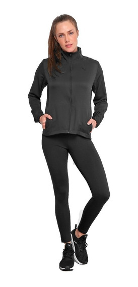Puma Conjunto Running Mujer Active Woven Suit Negro