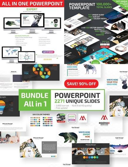 Modelo De Powerpoint Super Pacote