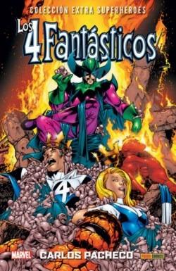 4 Fantásticos De Carlos Pacheco Col. Extra Superhéroes 1 + 2