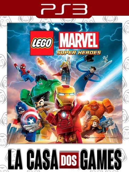 Lego Marvel Super Heroes - Psn Ps3 - Envio Imediato