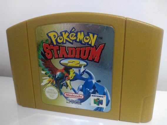 Jogo Pokémon Stadium 2 Nintendo 64