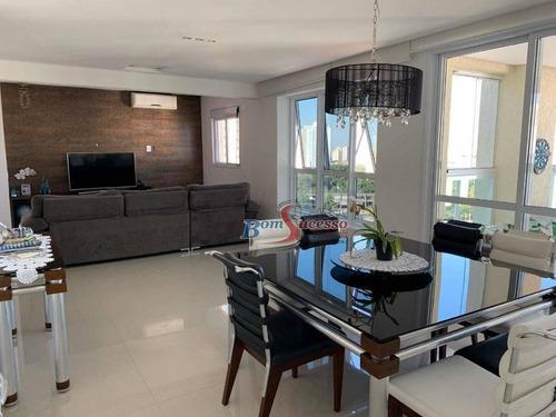 Imagem 1 de 30 de Apartamento Com 4 Dormitórios À Venda, 196 M² Por R$ 2.050.000,00 - Jardim Anália Franco - São Paulo/sp - Ap2695
