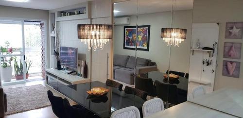 Imagem 1 de 17 de Apartamento Com 2 Dormitórios À Venda, 63 M² Por R$ 450.000,00 - Saco Dos Limões - Florianópolis/sc - Ap5873