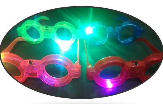 20 Lentes Luz Led + 10 Coronas Luminosas Paquete Batucada