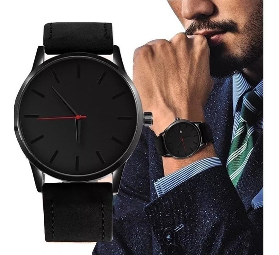 Reloj Lujo Casual Deportivo Pulsera Hombre - Black Army