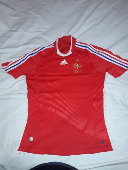 Camiseta Alternativa Selec.francia 2008 L Origi