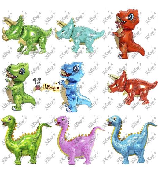Globos Dinosaurio 3d 77x51cm Dinosaurios Movible Inflable
