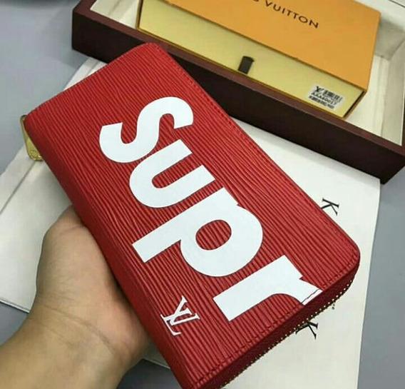 Billetera Louis Vuitton Supreme