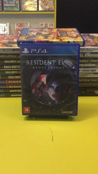 Resident Evil Revelations Ps4 Mídia Física Á Pronta Entrega