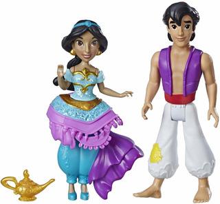 Disney Princesa Jazmín Y Muñeca Aladdin