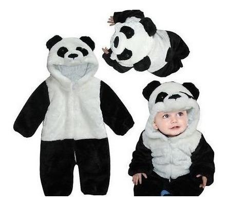 Macacão De Panda Para Bebês Tamanho 10-12 Meses