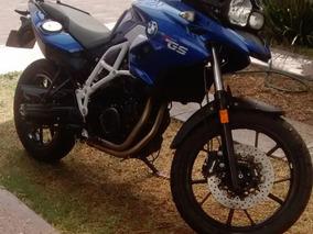 Bmw F700 Gs Adventure Azul Deportivo 798 Cc Eq Especial