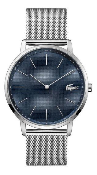 Reloj Lacoste Caballero Color Plateado 2011005 - S007