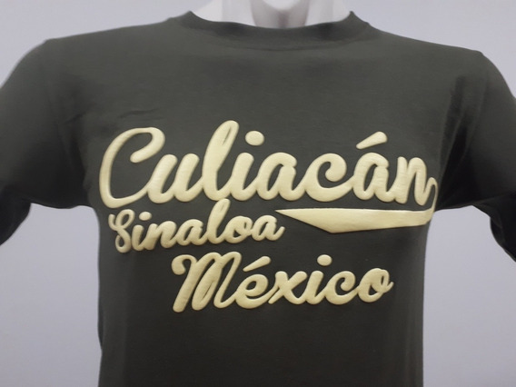 2 Playeras Puro Sinaloa Compa Culiacán Beisbolera Olivo