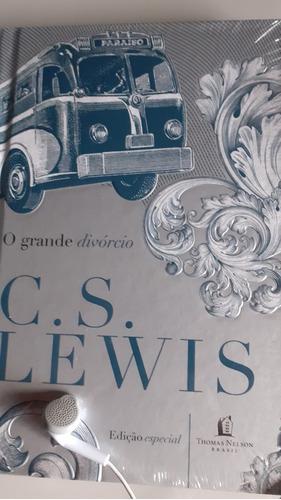 Livro O Grande Divórcio C.s. Lewis Lacrado