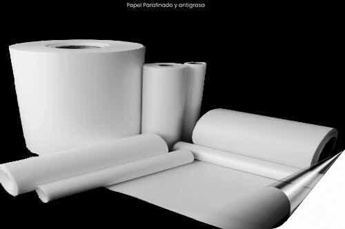 Papel Parafinado En Rollos, Blanco, 100% Biodegradable
