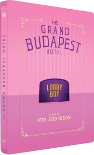 Blu Ray The Grand Budapest Hotel Steelbook Anderson