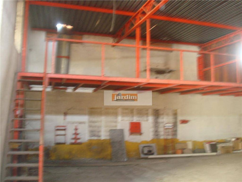 Galpão Comercial À Venda, Vila Dusi, São Bernardo Do Campo. - Ga0004